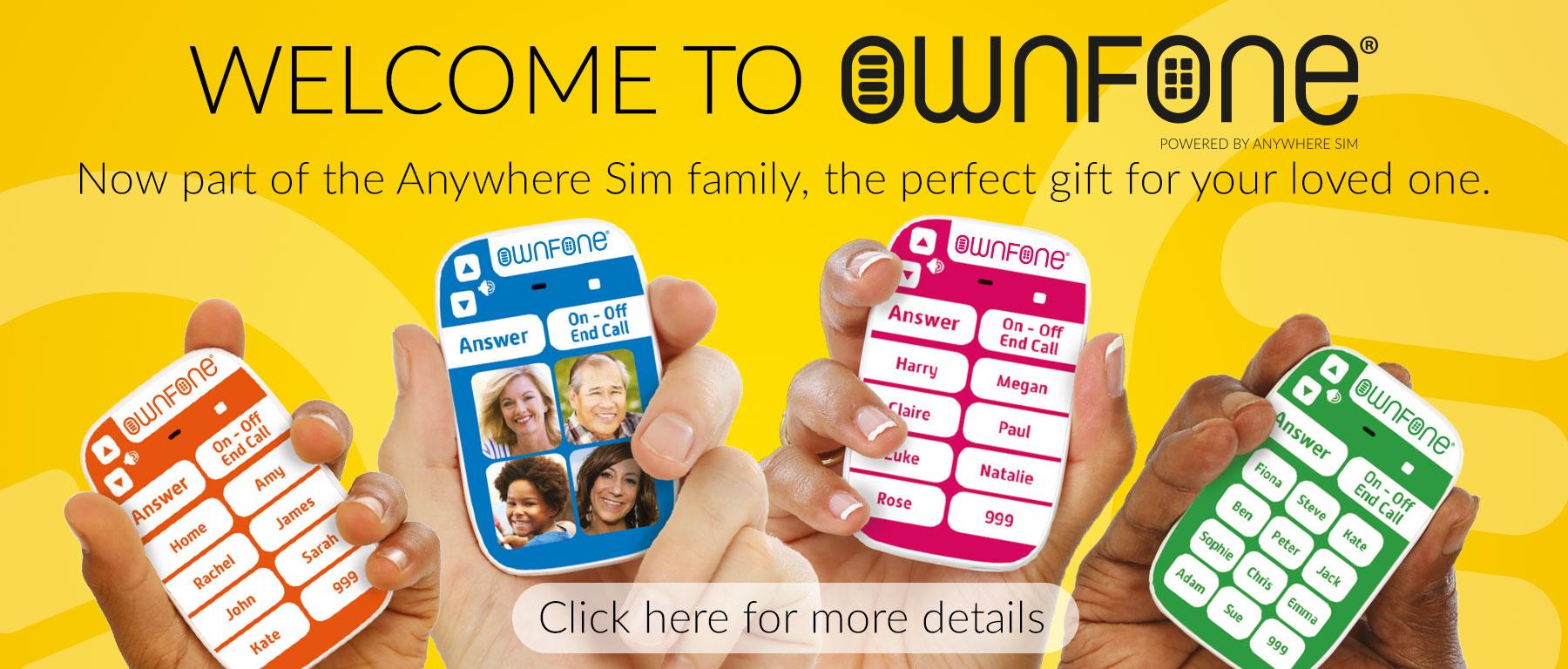 Anywhere Sim Home Page
